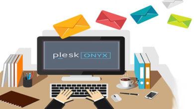 ایجاد و مدیریت ایمیل در پلسک