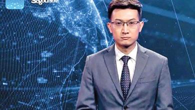 ربات گوینده خبر چین