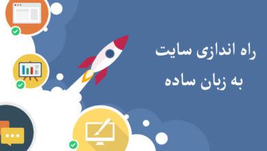 راه اندازی سایت به زبان ساده