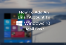 تنظیمات ایمیل هاست در ویندوز 10