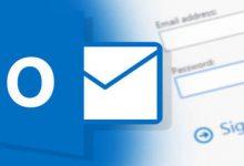 نحوه تنظیمات Outlook جهت اتصال به هاست