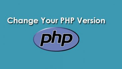 change version php in plesk